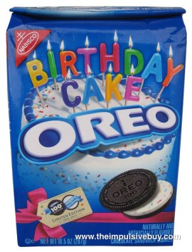 Nabisco Limited Edition Birthday Cake Oreo