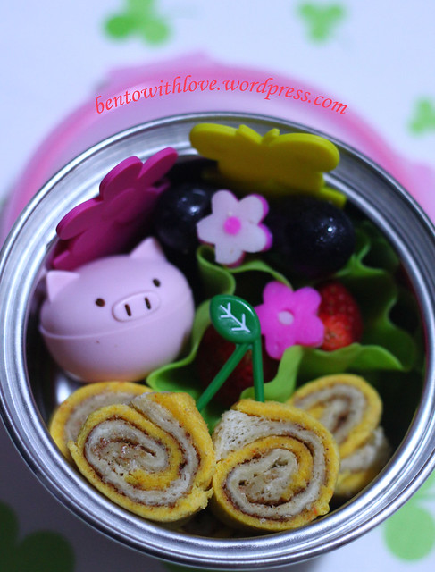 Cheat Swiss Roll Bento