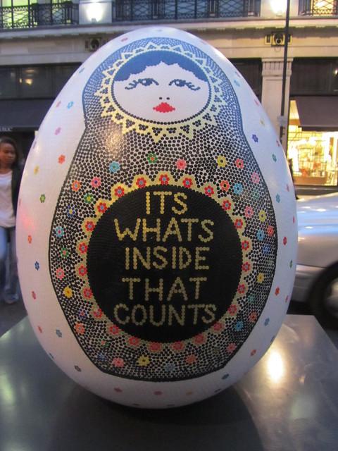 107 - It's what's inside that counts by Hazel Nicholls