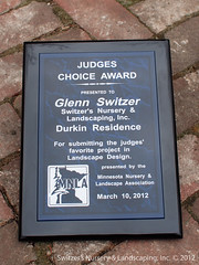 Judges Choice Award ~ MNLA Landscape Design