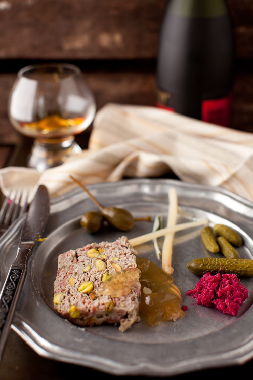 Country Pate with Pistachios