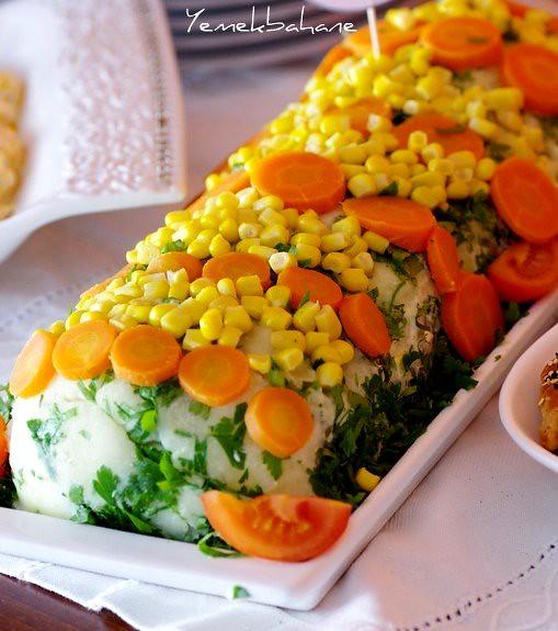 Rulo patates salatası