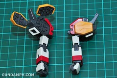 MG 1-100 Gundam HeavyArms EW Unboxing OOTB Review (27)