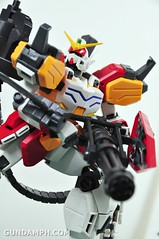MG 1-100 Gundam HeavyArms EW Unboxing OOTB Review (74)