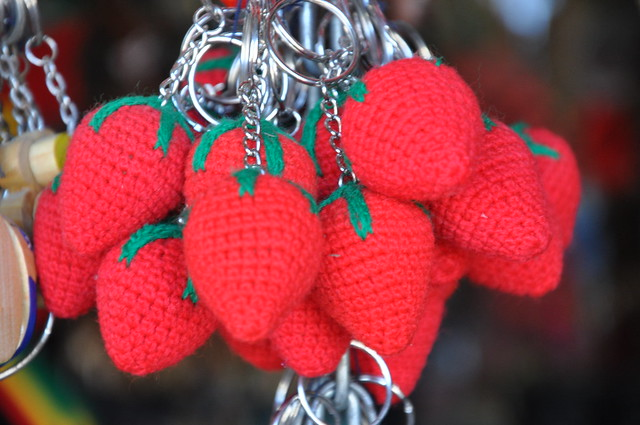 Strawberry Key Chains