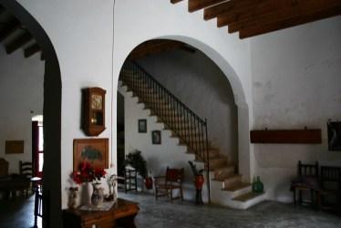dentro por casa antigua