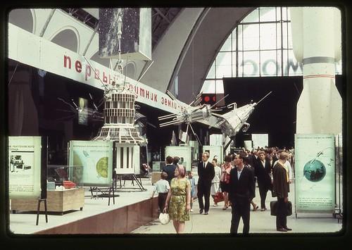 Electron 1, Electron 2, and Sputnik 3, Moscow, 1969