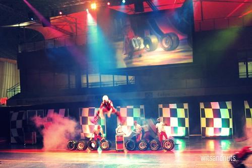 Performers at Ferrari World Abu Dhabi
