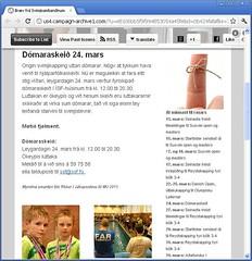 Bræv frá Svimjisambandinum (2)