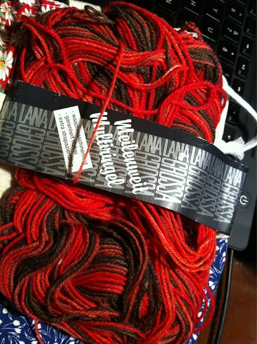 New Break It Up yarn