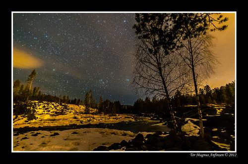 Kongsberg Night-16 by Tor Magnus Anfinsen