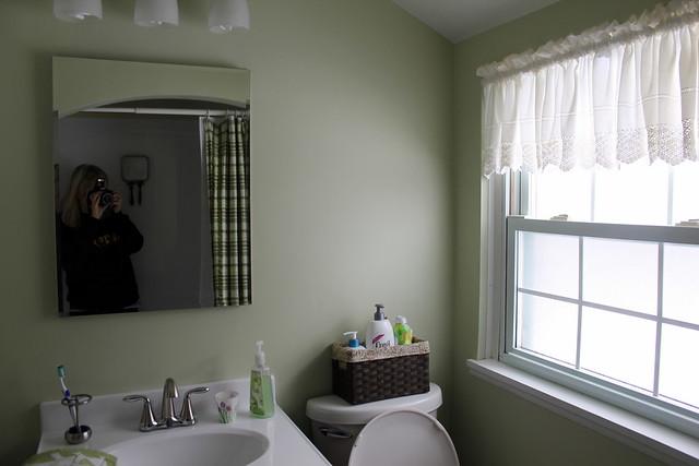 upstairs bath before