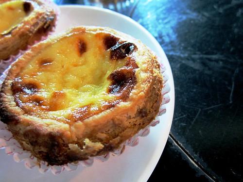 Mitsu Portuguese egg tart