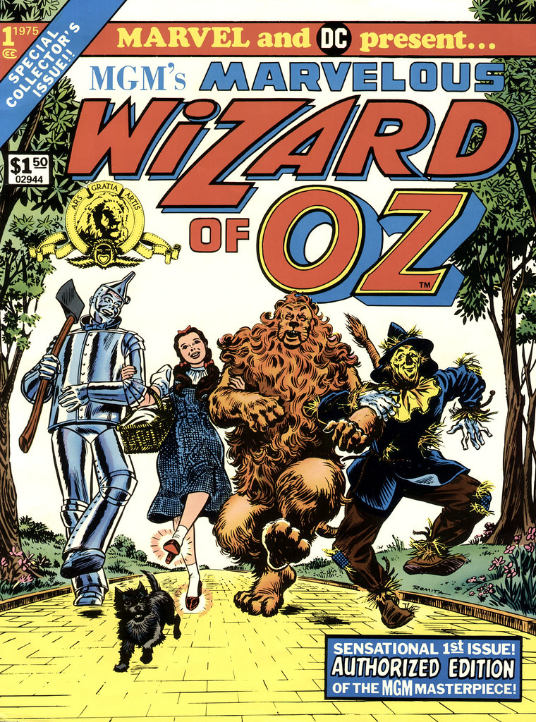 Marvelous Wizard of Oz comic