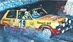 Renault 5 Alpine - Montecarlo 1978