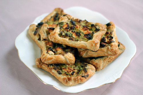 Leek and Goats cheese pastry (5/6)