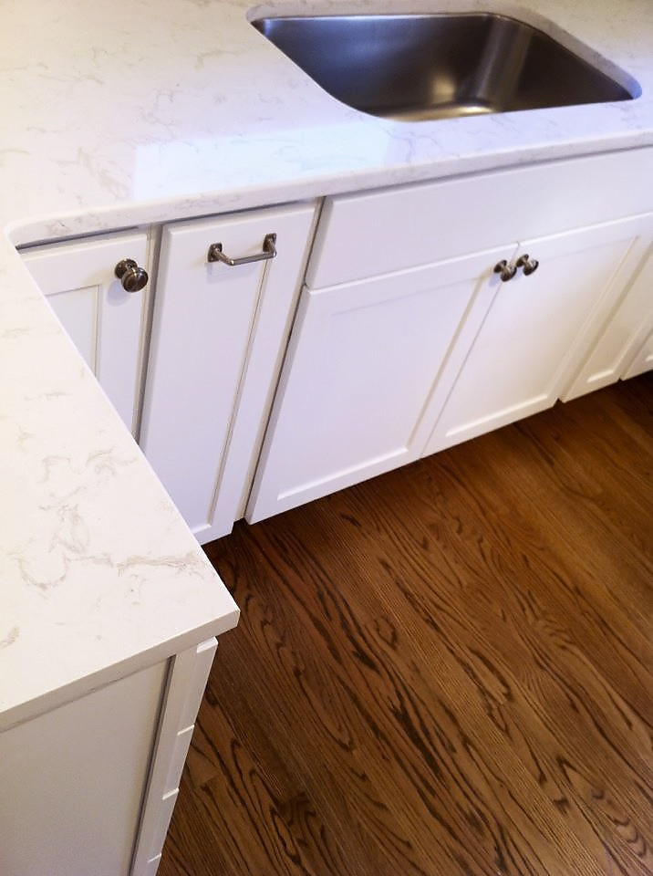 Countertop That Looks Like Marble : Countertops that look like white marble (take two) roomology