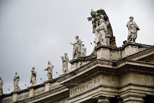 Colonnades Detail, St Peter's Square