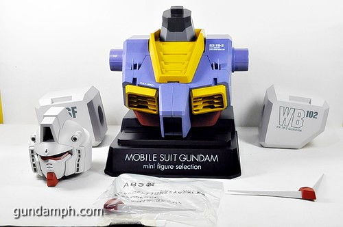 MSG RX-78-2 Bust Type Display Case (Mobile Suit Gundam) (17)