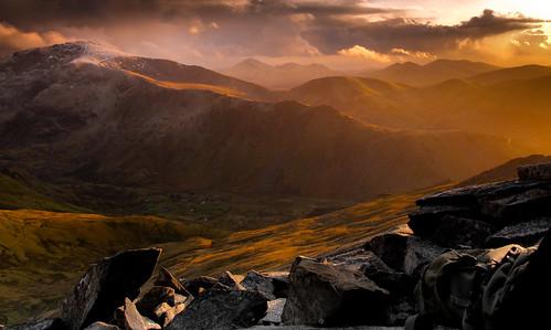 Phantasmagoric light on the Snowdon Range