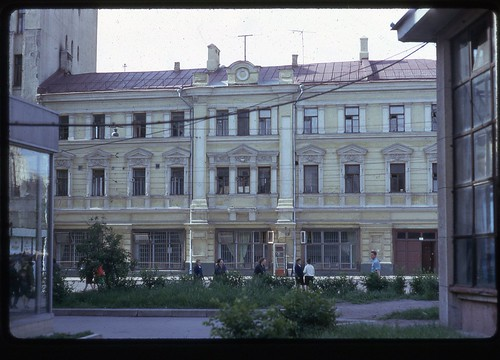 Demolished Home, Moscow, 1969