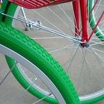 Google Bikes Arrive on Campus: Tires