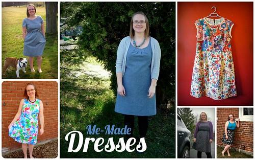 Me-Made Dresses
