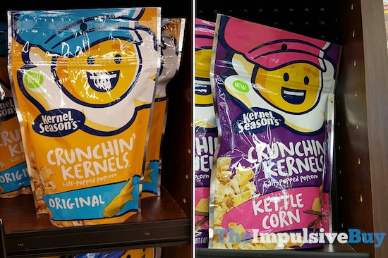 Kernel Season's Crunchin' Kernels (Original and Kettle Corn)