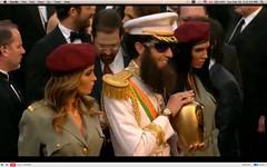 Oscar 2012 - Sacha Baron Cohen - The Dictator - pix 17