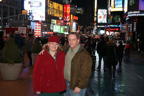 Dianne and Brian in Times Square