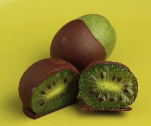 Chocolate Covered Mini Kiwis