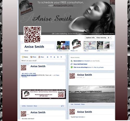 AniseSmithMarketing Timeline Brand Mockup