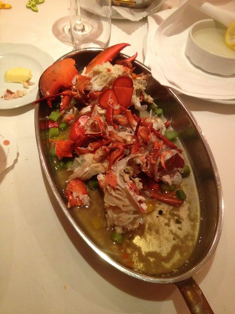 Lobster - at the end...