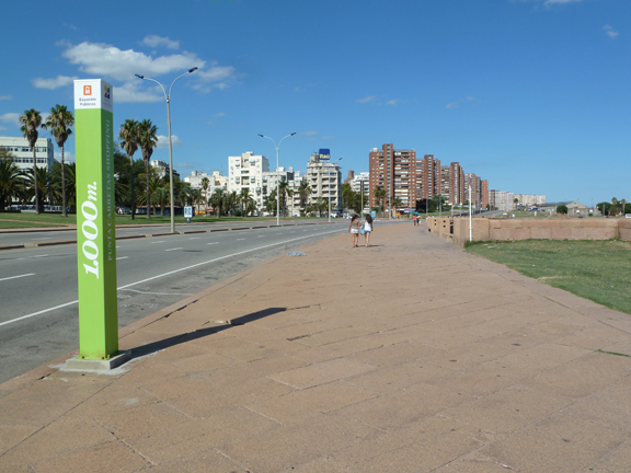 Running path montevideo