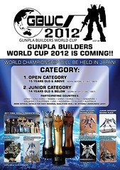 GBWC 2012 Gunpla Builders World Cup To Be Held In Japan
