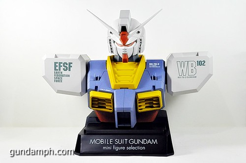 MSG RX-78-2 Bust Type Display Case (Mobile Suit Gundam) (23)