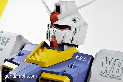 MSG RX-78-2 Bust Type Display Case (Mobile Suit Gundam) (49)