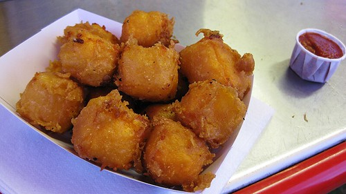 fried cheddar cheese curds
