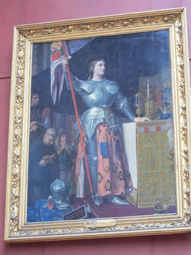 シャルル7世の戴冠式でのジャンヌダルク/ドミニク・アングル