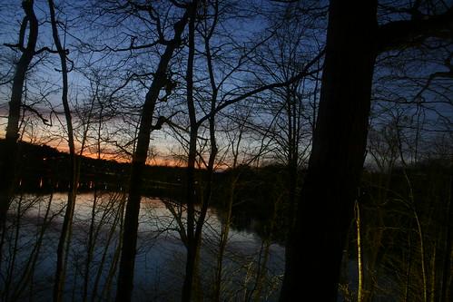 Jamaica Pond sunset
