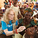 NEWS: Mia Farrow promotes polio eradication