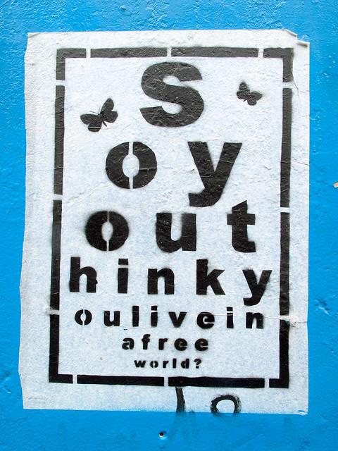 Think - Stencil