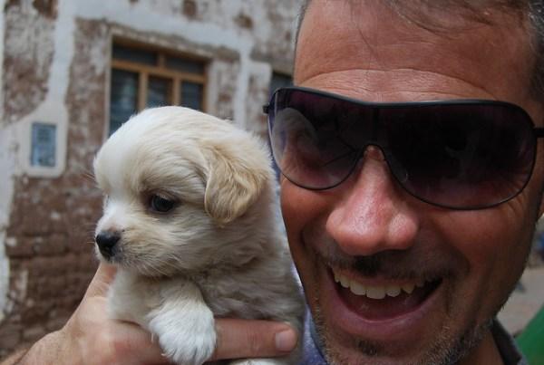 Viajando con Diego y su vida perra en Pisac