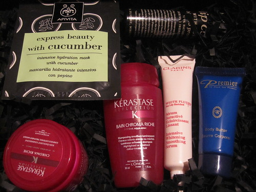 Products inside February Glossybox