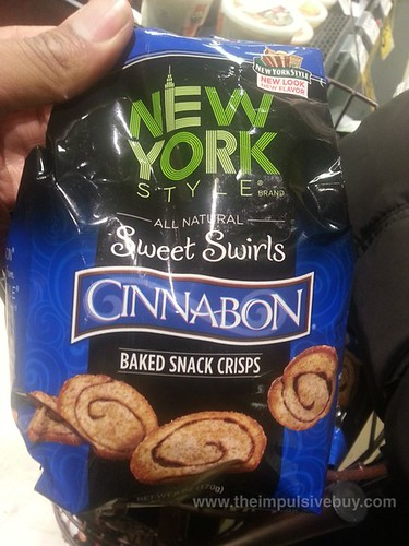 New York Style Sweet Swirls Cinnabon Baked Snack Crisps