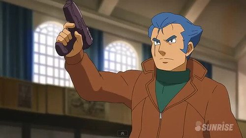 Gundam AGE Episode 18  Battle at the Graduation Ceremony Screenshots Youtube Gundam PH (17)