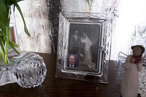 Grandma: Wedding Photograph