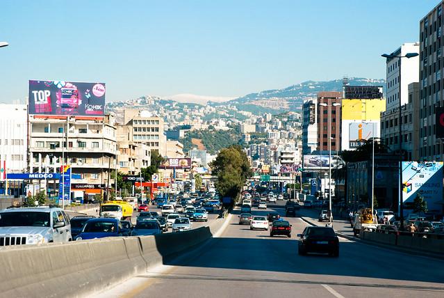 Beirut - towards Byblos