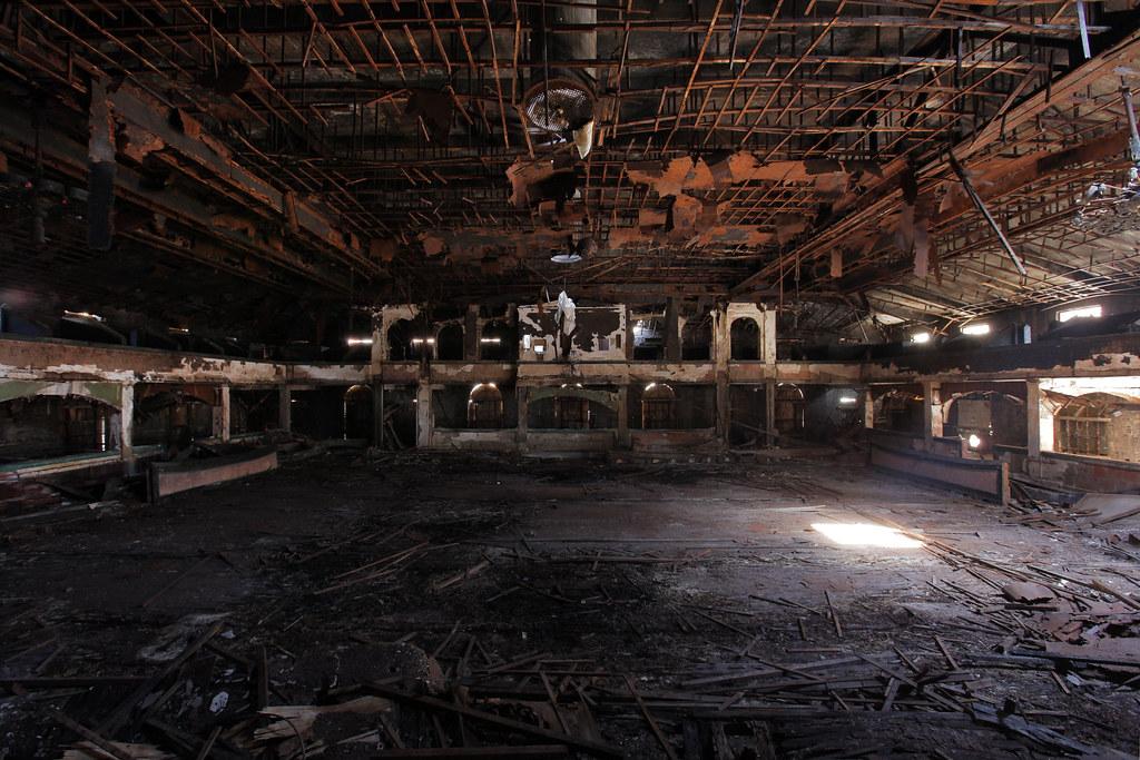 Harlem Renaissance Ballroom Bandstand View