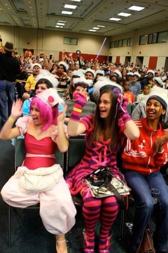 Costume Contest Crowd - MegaCon 2012